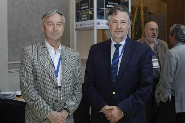 Jurgen Leibbrandt, Grupo Emin; Andrés Aguirre, de Aprimin.