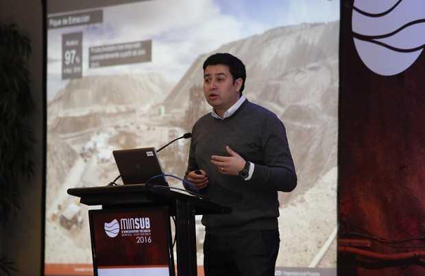 Francisco Carrasco, gerente de Planificación Estratégica del proyecto Chuquicamata Subterránea