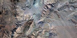 Vista área de Chuquicamata, yacimiento que dio inicio a la gran minería del cobre en el país.