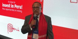 Gonzalo Tamayo, Ministro de Energía y Minas de Perú