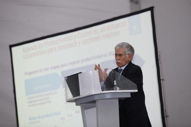 Nelson Pizarro en seminario de inversiones en Exponor 2017.