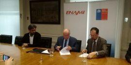 Ceremonia de firma acuerdo Enami-CChen.