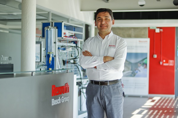 Marcelo Celis, Gerente General de Bosch Rexroth Chile SpA.