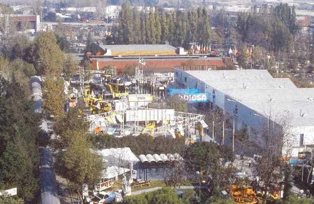 El tradicional recinto ferial Fisa fue la sede durante la década de 1990.
