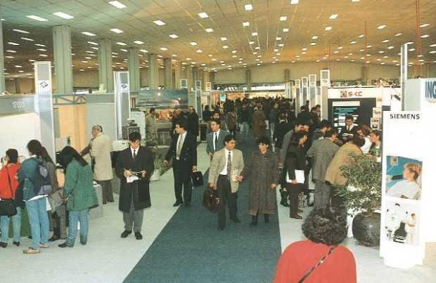 La proyección de negocios de Expomin 2000 fue de US$800 millones. Para 2018 se estima en US$ 1.500 millones.