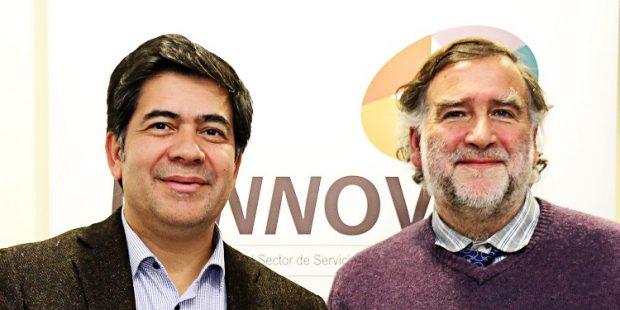 Juan Cariamo (izq) junto a Andrés Costa (der.).