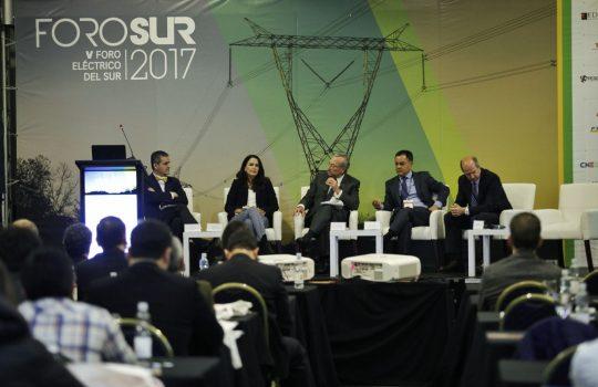 Módulo inaugural del Foro Eléctrico del Sur 2017.