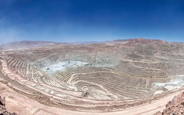 Minera Escondida. Fotografía: BHP