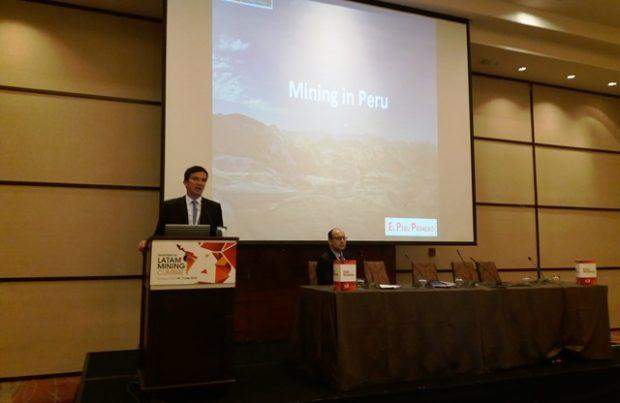 Viceministro de Energía y Minas de Perú, Miguel Incháustegui