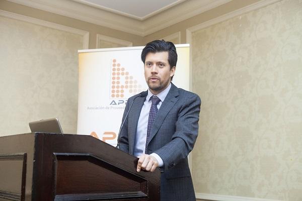 Sebastián Carmona, gerente de Innovación y Tecnología de Codelco.