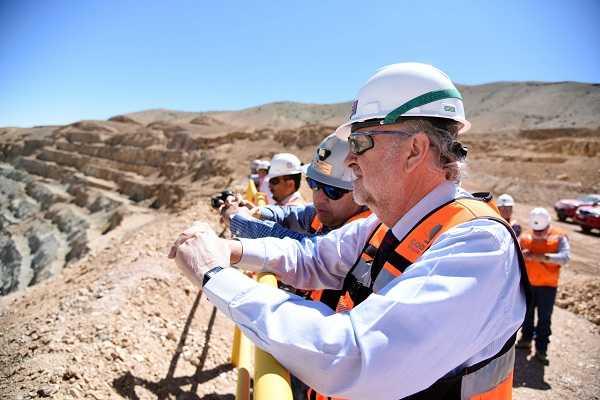 Ministro en Rajo Inca
