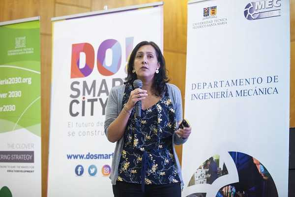 Verónica Martínez, de Codelco.