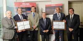 Agunsa y Report recibieron certificaciones