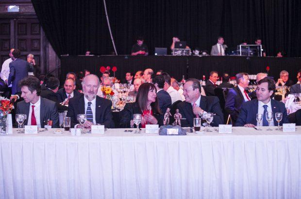 El ministro de Minería participó en Cena Aprimin 2018
