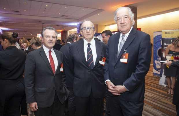 Fernando García, Jacobs; Horacio Undurraga, TTM; Brian Lee, Bechtel.