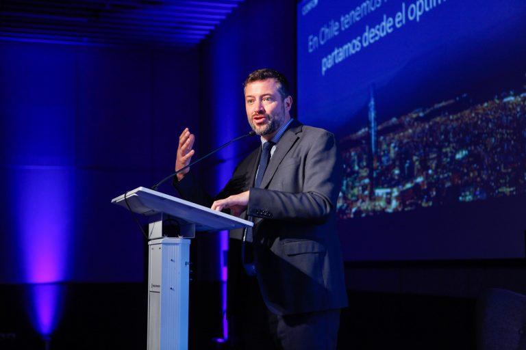 Sebastián Sichel, vicepresidente ejecutivo de Corfo.