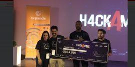 DataQu, equipo ganador del hackathon