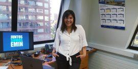 Janet Cañas, ejecutiva Emin Ingeniería y Construcción
