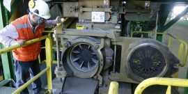 Inaguran planta de extrusion de subproductos para reciclaje en alto horno.