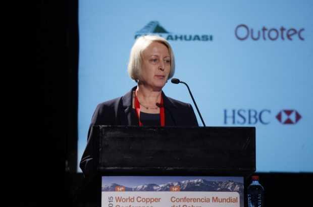 Imagen: Vanessa Davidson, directora de investigación y estrategia de Cobre de CRU.
