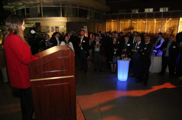 Ceremonia del Pabellón de EE.UU. en Exponor
