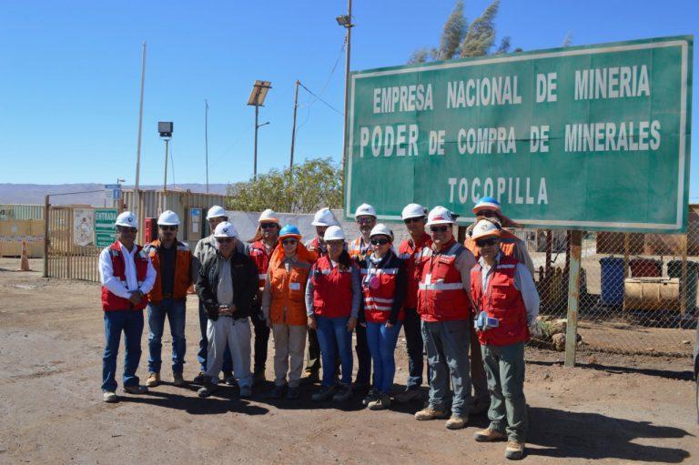 Delegación visitó zona del proyecto Barriles, de Enami