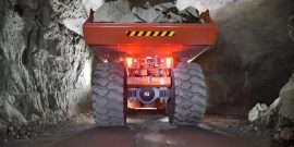 Sandvik TH663i with AutoMine Trucking