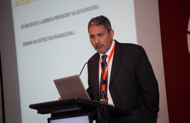 Luis Díaz, gerente de Prevención de Riesgo y Salud Ocupacional de Züblin.