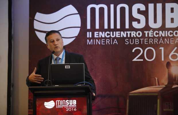 Giglio Barlaro, gerente de Minas Subterráneas del Distrito Candelaria