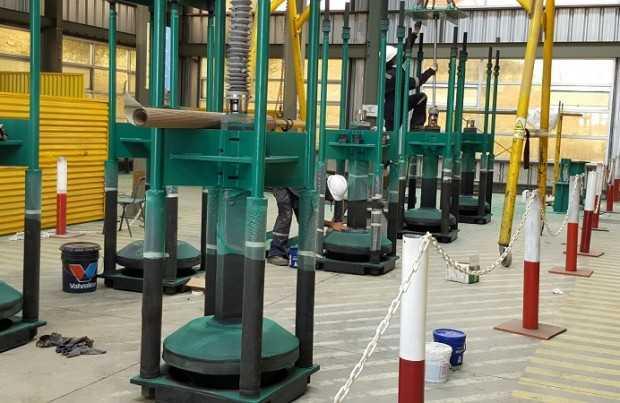 VDSA en proceso de fabricación.