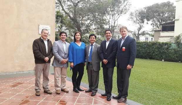 Reunión con ProChile en Perú