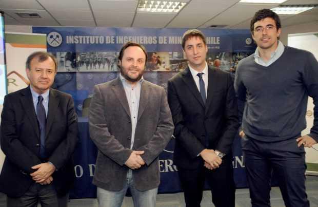 Iván Cerda, Juan Cristóbal Videla, Felipe Kremer y Christian Lichtin