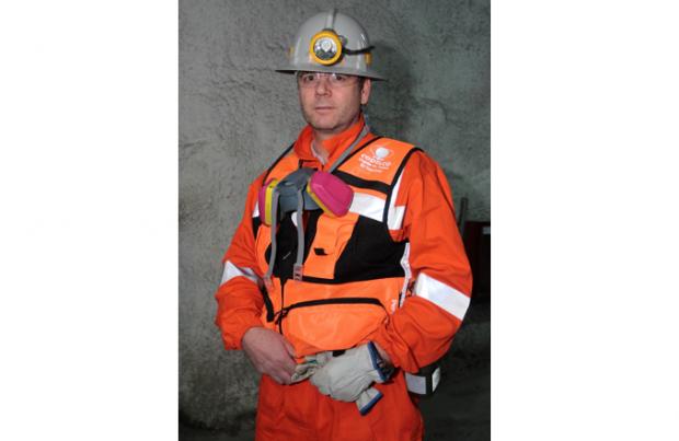 Antonio Bonani, gerente de Recursos Mineros y Desarrollo de El Teniente.
