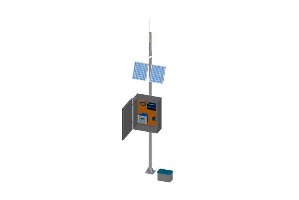 Modelo con Solución de Monitoreo Inalámbrico.