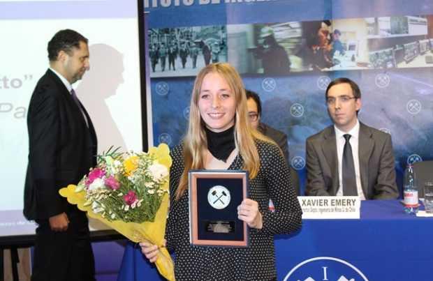 Catalina Polanco Palacios, premio Federico  Scotto (Foto IIMCh)