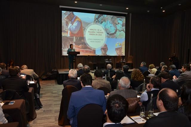 Ceremonia de entrega de resultados sobre impacto de Enami en el país. Foto gentileza Sonami