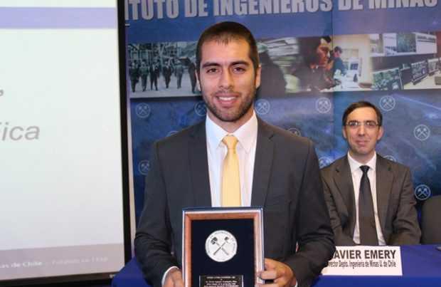 Javier Fernández Fica, premio Lucien Coudurier (Foto IIMCh)