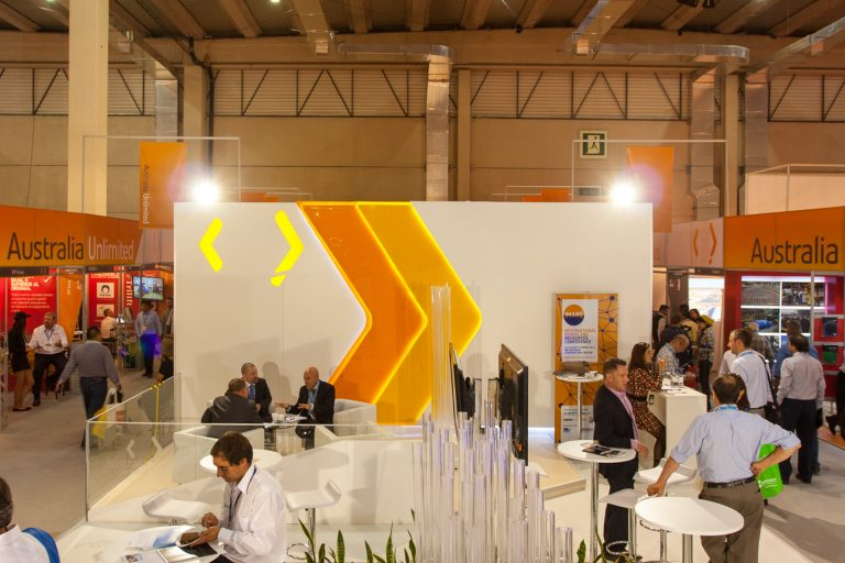 Australia en Expomin 2014 (Foto de Austrade)