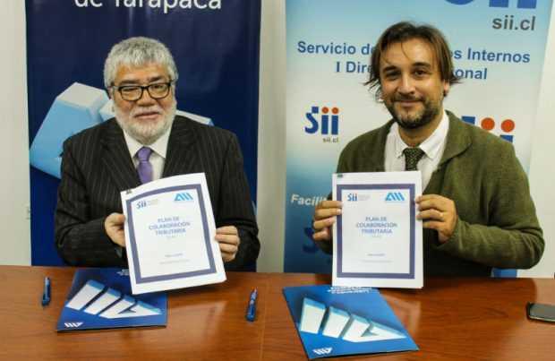 Convenio Asociacion de Industriales de Iquique y SII