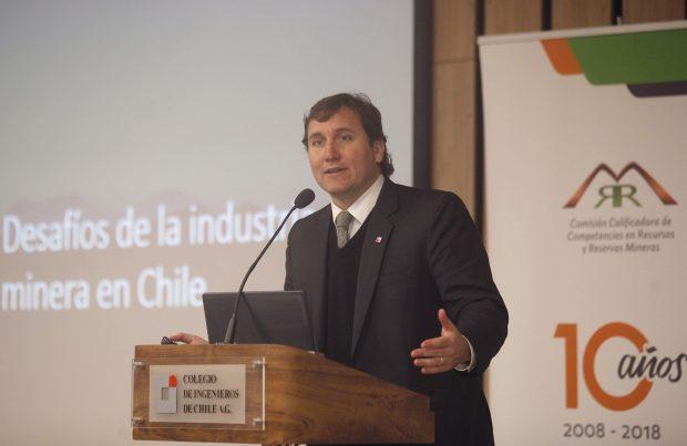 Pablo Terrazas, subsecretario de Minería.