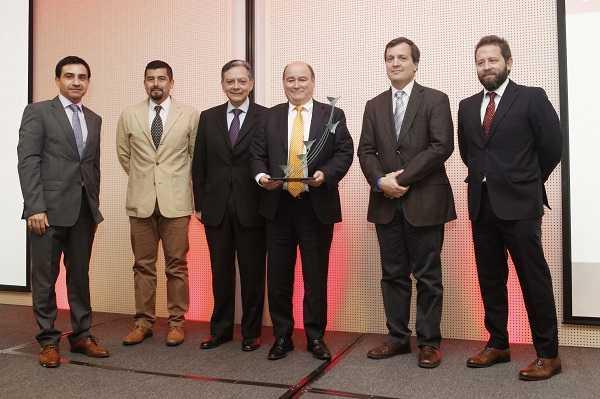 Constructora Gardilcic obtuvo el premio en el segmento de Túneles.