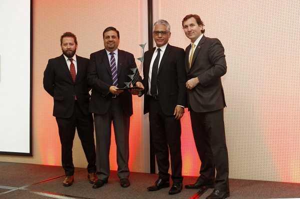 Metso fue reconocido como el Mejor Proveedor Internacional.