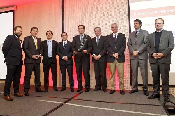 El premio Proveedor Innovador Nacional lo obtuvo ME Elecmetal.