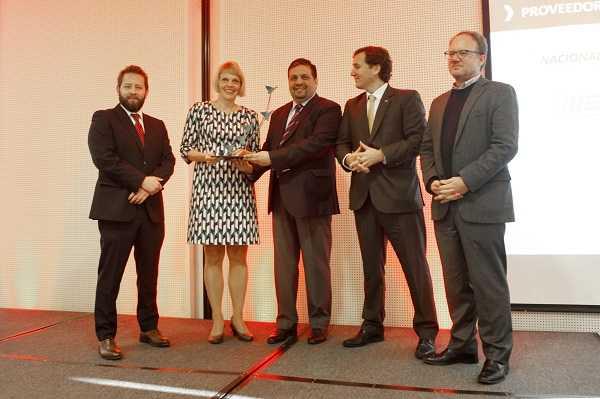 El reconocimiento Proveedor Innovador Internacional recayó en Metso.
