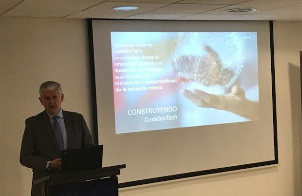 Mario Marchese expuso los desafíos de CodelcoTech