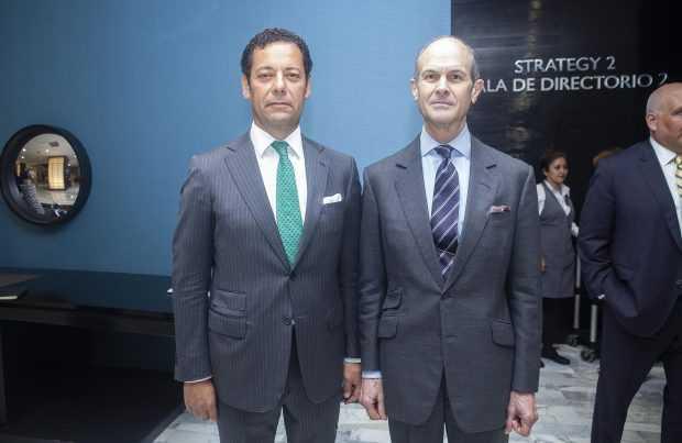 Joaquín Villarino, presidente Consejo Minero; Geoff Colvin, economista y experto en tecnología.