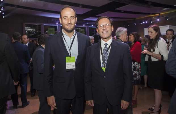 Andrónico Luksic L. e Iván Arriagada, Antofagasta Minerals
