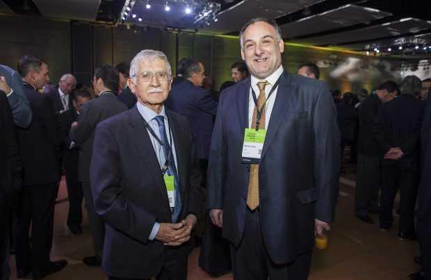 Nelson Pizarro, Codelco, y Mauricio Larraín, Los Pelambres