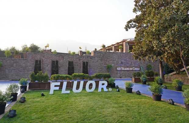 Fluor celebró en CasaPiedra sus 40 años en Chile.