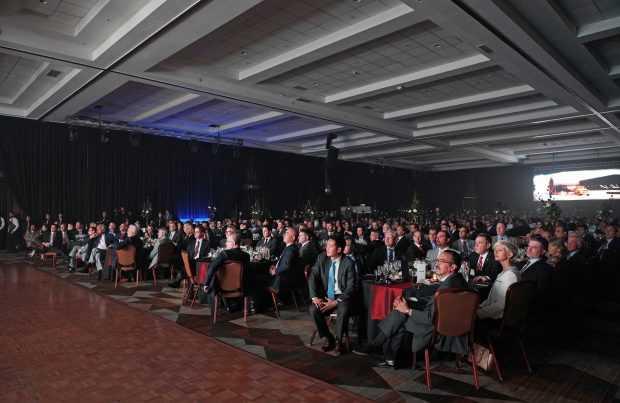 Personal de Fluor, junto con ejecutivos de mineras y empresas socias celebraron los 40 años en Chile